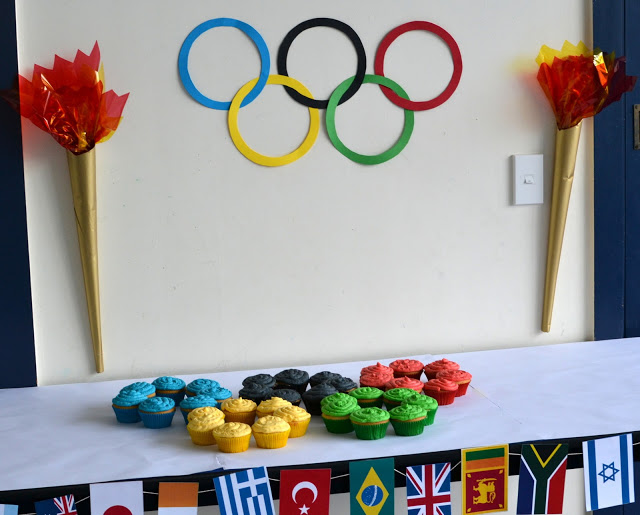 Love this Olympic Party!