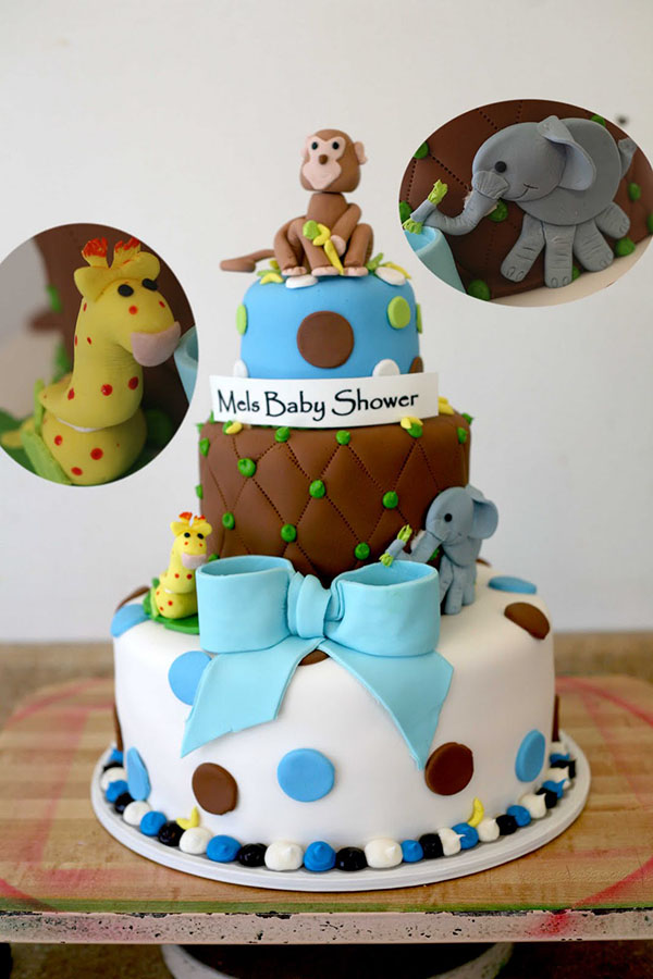 baby shower with an amazing cake like this from Hectors Custom Cakes ...