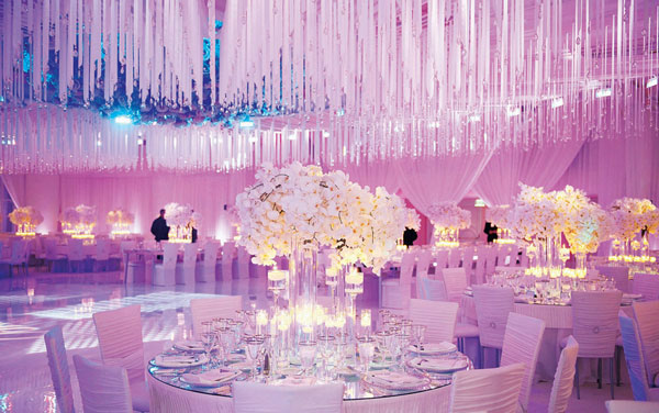 Extraordinary modern wedding reception b lovely events junglespirit Images