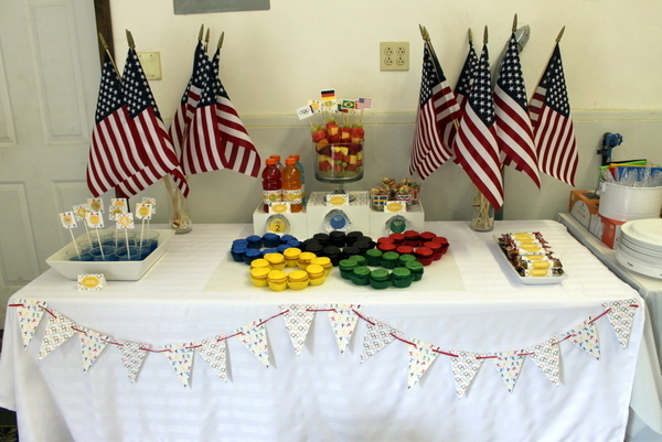 Olympic Party Dessert Bar