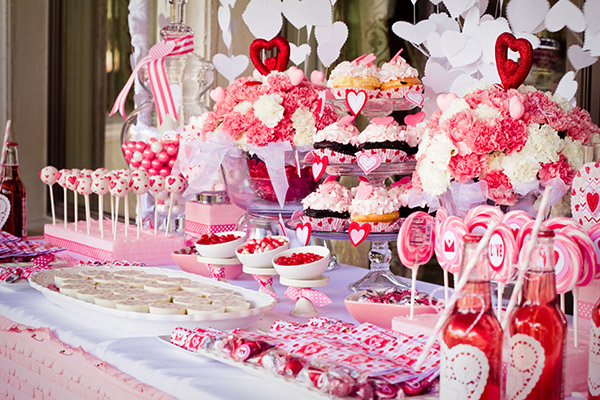 Pink And Red Valentine's day Party
