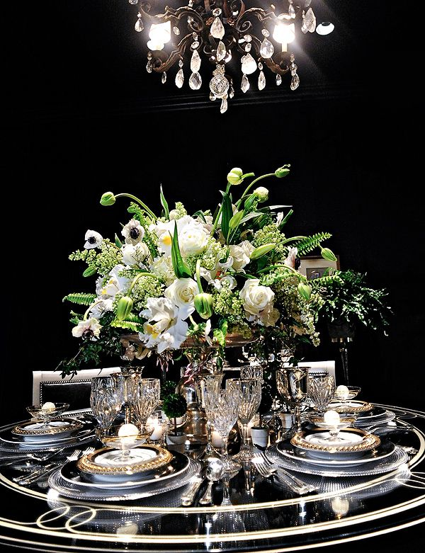 Regal tablescape-Just Gorgeous!