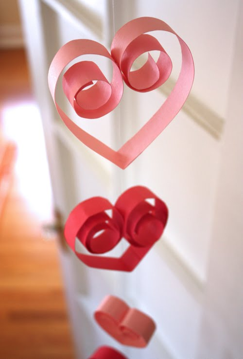 Soo Cute heart garland for Valentine's Day