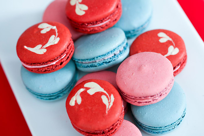 Valentine's Day Macaroons - B. Lovely Events
