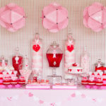 Very pink and red valentines party