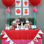Wild About You Valentine's Party Dessert bar