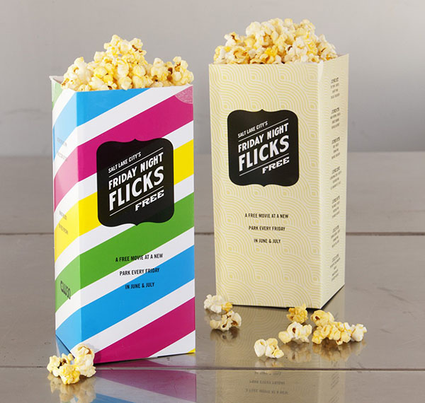 Wow! I love these popcorn bags, especailyl for a movie party