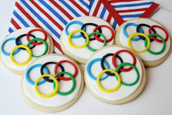 fabulous olympic cookies!