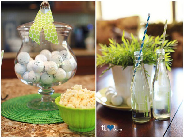 Amazing Use Of Golf Balls In The Decor Pieces!