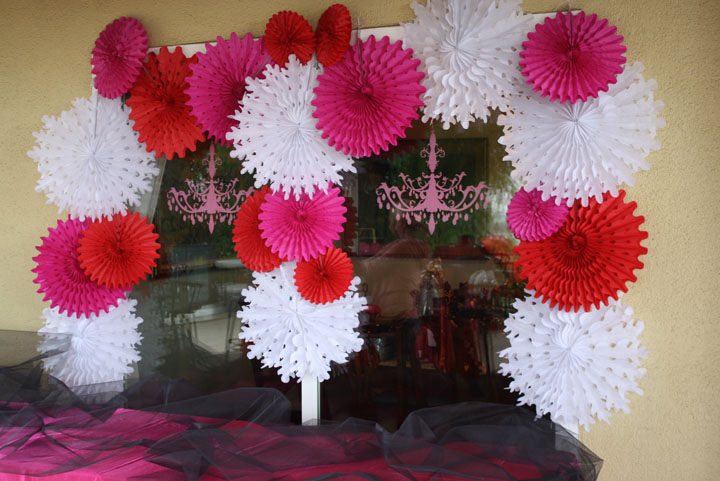 Awesome burlesque decorations- B. Lovely Events