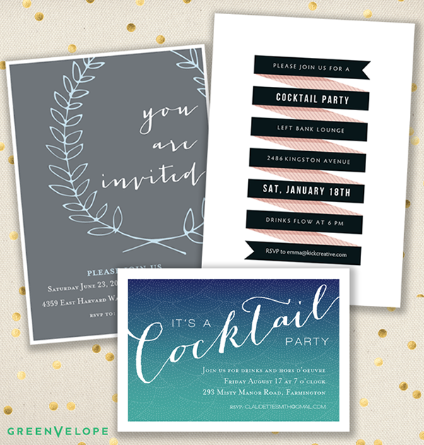Giveaway! Win an online invite set from Greenvelope. Lots of Parties to choose from!