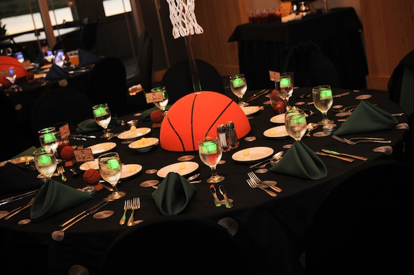 Great Basketball centerpiece
