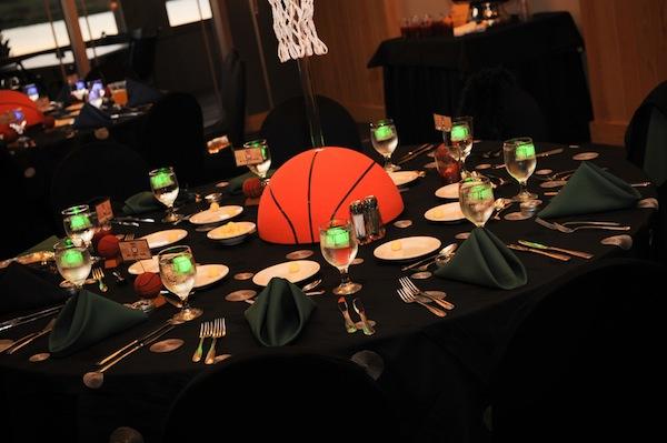 Great Basketball centerpiece