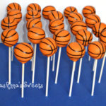 Love these Basketball cake pops!