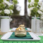 Love these pots of gold place settings!