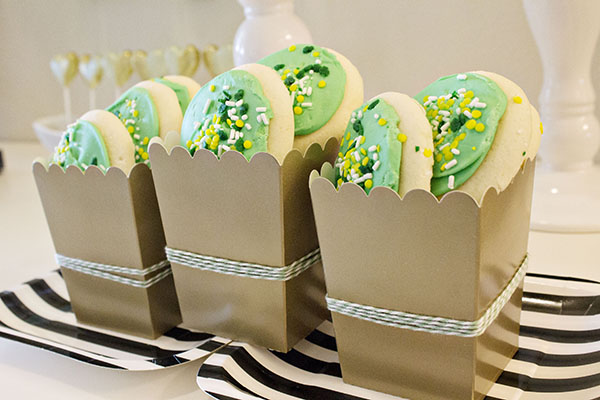 Lucky In Love Engagement Party Treats- B. Lovely Events