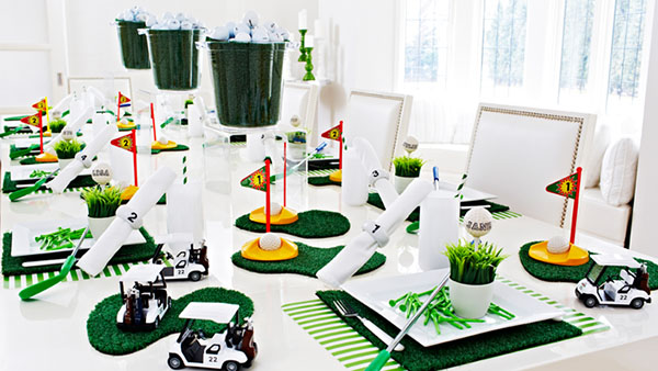 Modern Golf Party- so cute!