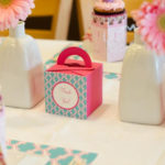 Party boxes with handles