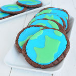 Cocolate Earth day cookies, sounds like heaven!
