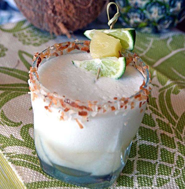 Coconut pina margarita recipe