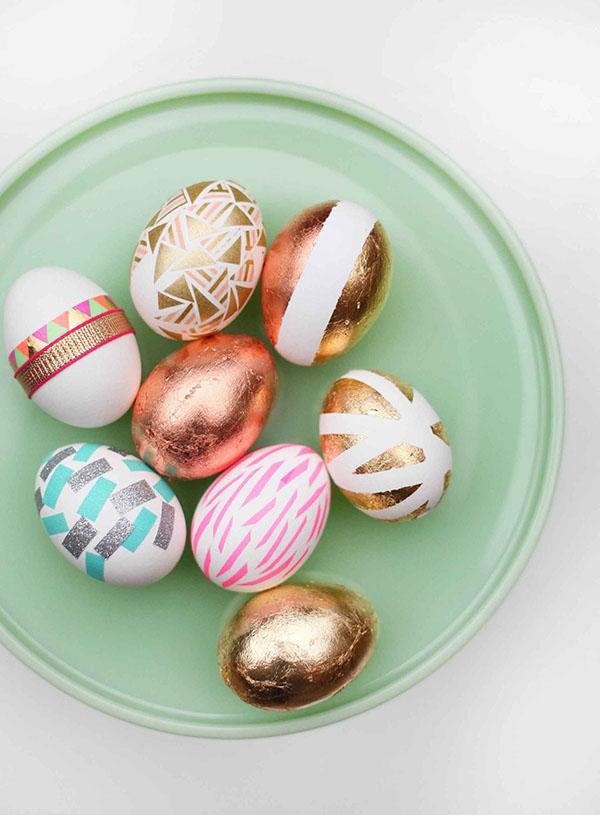 Cool Gold Easter Egg Designs!