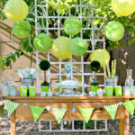 Cute All Green Earth Day Party!