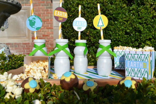 Cute Earth Day Party Ideas