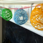 Cute Yarn Easter Egg Garland!
