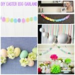 DIY Easter Egg Garland!