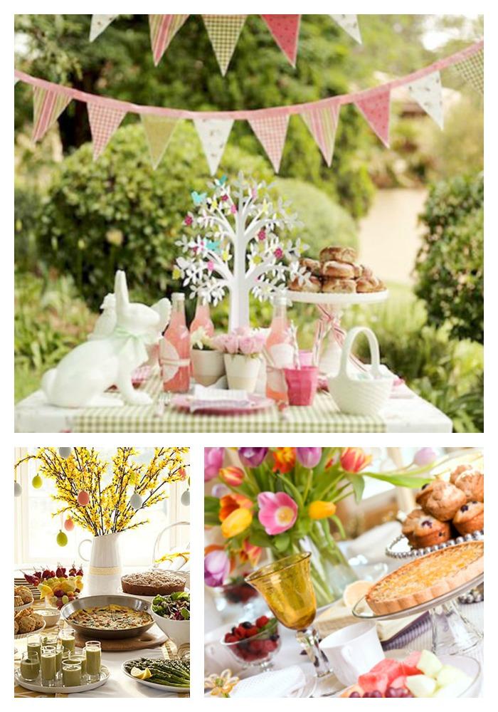 Brunch Ideas For Easter: Easter Brunch Tables!