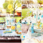 Easter Brunch Table Ideas- Love teh pastels in this one!
