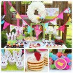 Fun Easter Brunch Set up!