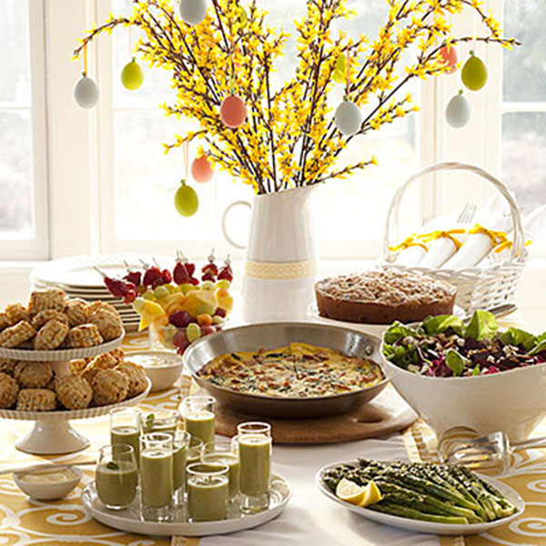 Gorgeous Easter Brunch Display