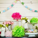Handpainted Easter Egg Garland