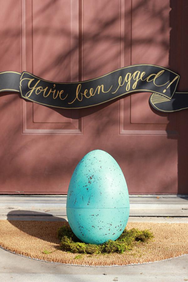 Huge Robins Egg Easter Gift