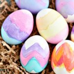 Love these Watercolor Eggs!