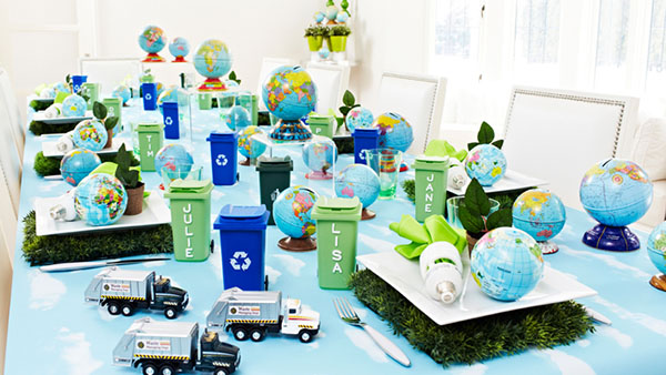 Earth day party ideas inspiration b lovely events for B day party decoration