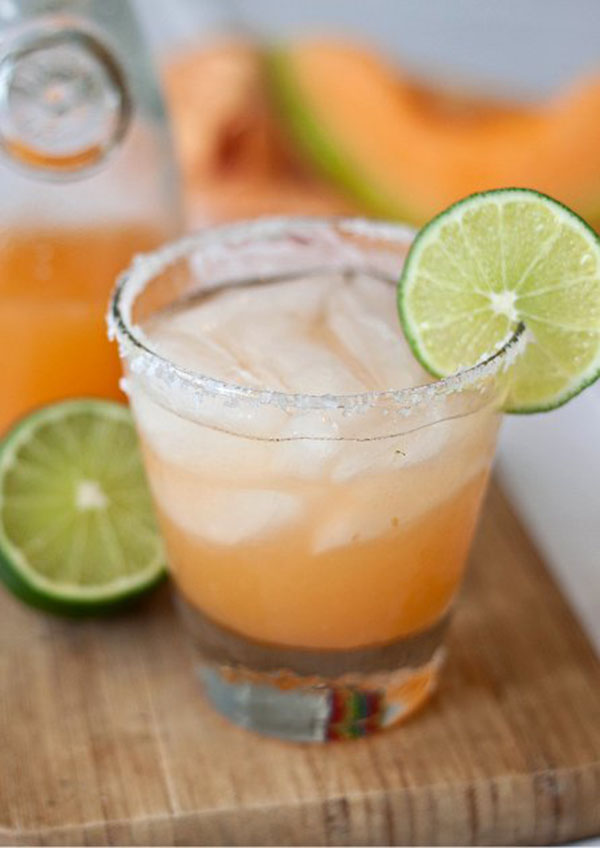These Cantaloup margaritas look delicious!