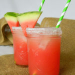 Watermelon Margaritas-Yum!