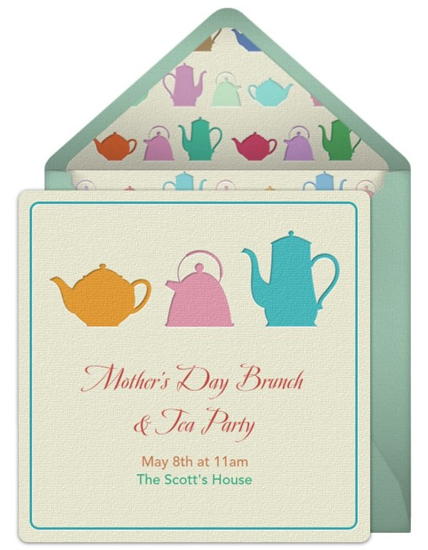 Amazingly cute mother's day tea invitation!