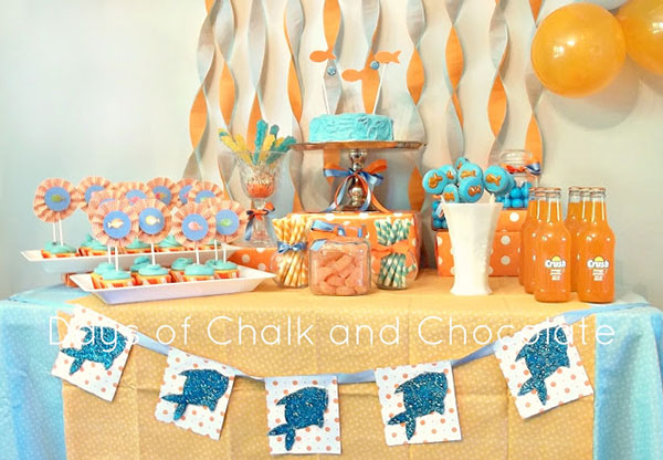 Love this Goldfish Party!