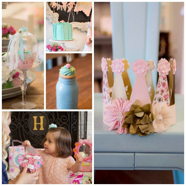 Shabby Chic 1st Birthday Party Celebration