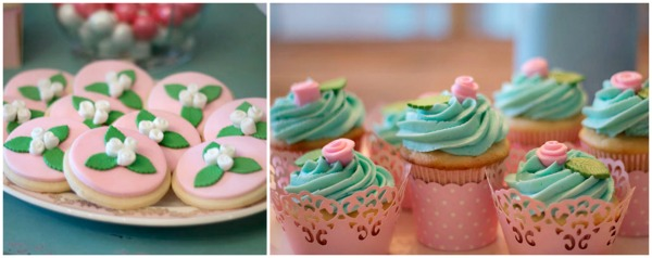 Shabby Chic Party Desserts