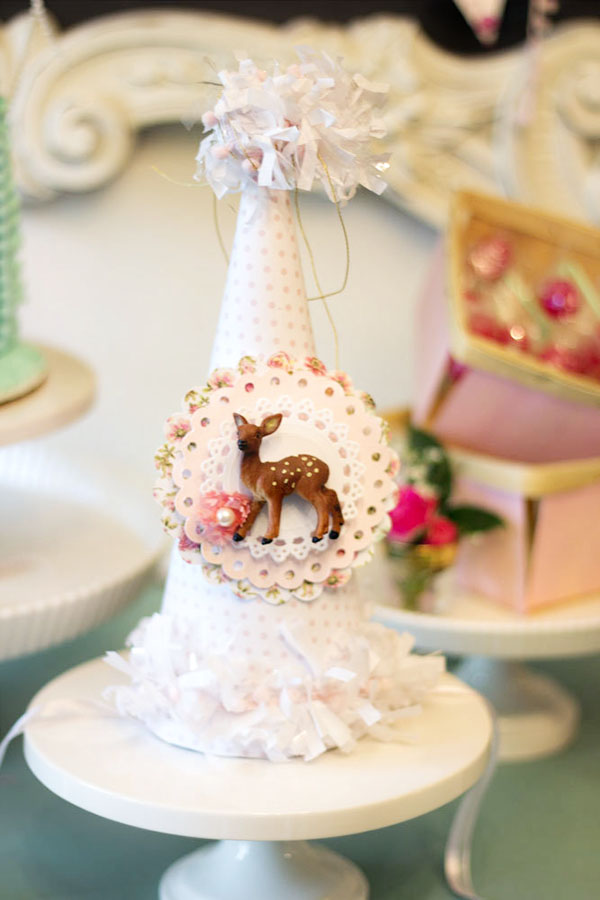 Shabby Chic Birthday Hat