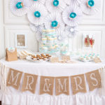 Vintage Lace And Pearls Bridal Shower - B. Lovely Events