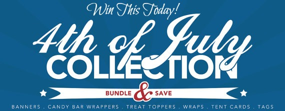 4th of July Free Printables Giveaway on B. Lovely Events