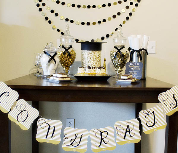 Graduation Party Ideas: Our Styled Graduation Party!
