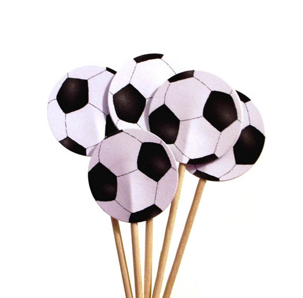 Etsy Find- Soccer Ball Party Picks