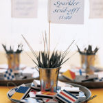Love This nautical sparkler display-great for 4th of July