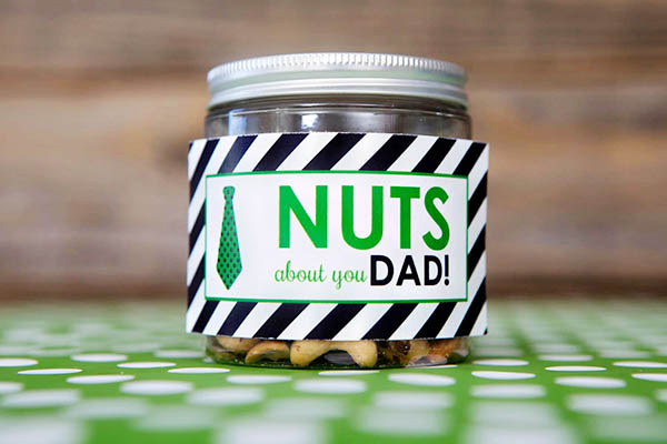 Nuts About You Dad- Father's Day -B. Lovely Events